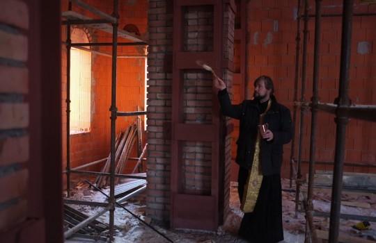 Молебен в Андреевском