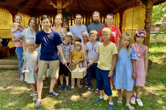 <b> 8 июля 2021 года </b> День семьи отметили вместе!