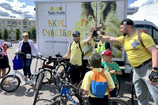 <b> 24 июля 2021 года </b> Наш велопробег по Москве!