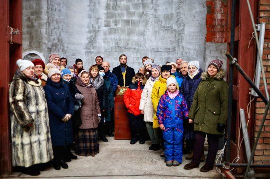 <b>13 декабря 2020 г.</b> Молебен в Андреевском храме в честь престола