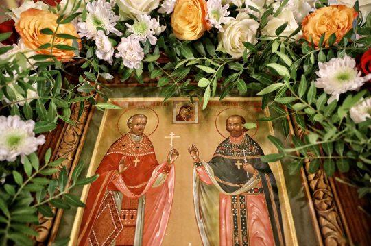<b> 21 октября 2020 г. </b> Престольный праздник в честь священномученика Василия Озерецковского