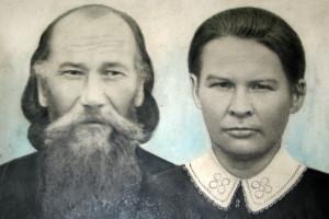 Отец Василий Озерецковский с матушкой Ириной