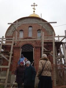 Храм в Мисайлово