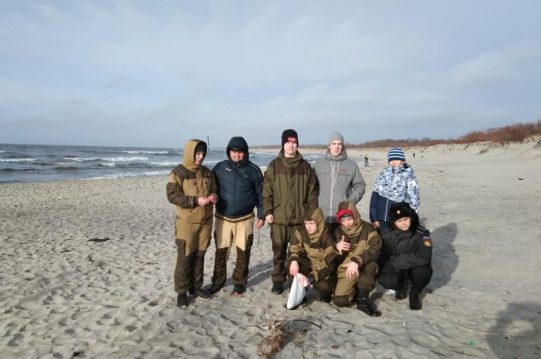 <b> Наши подростки прожили неделю на военном корабле в Балтийске </b>