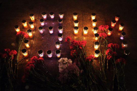 <b> &#171;Свеча Памяти&#187; в ночь с 21 на 22 июня 2017 г.</b> Всероссийская акция в с.Молоково в память о трагическом дне начала Великой Отечественной войны