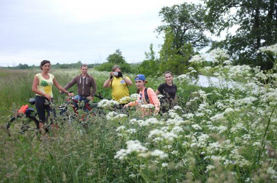 <b> 25 июня 2017 г.</b>  Велопробег по близлежащим деревням, лесам, полям, рекам, болотам..