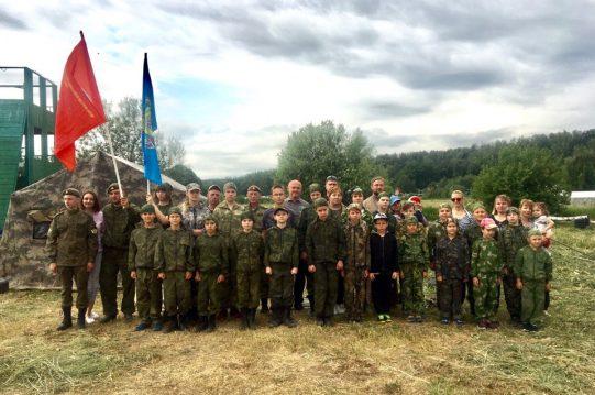 <b> 14 июня 2019 г.</b> Открытие 1-й смены Военно-полевого выхода ВПК Вятичи-Витязь