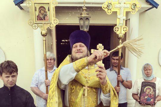 <b> 7 августа 2018 г.</b> Престольный праздник успения праведной Анны, матери Пресвятой Богородицы