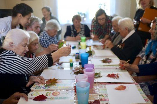 <b> 30 сентября 2018 г.</b> Прихожане Казанского храма с. Молоково посетили пансионат для пожилых людей.