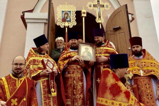 <b> 8 ноября 2018 г.</b> Престольный праздник в храме вмч. Димитрия Солунского д. Мисайлово