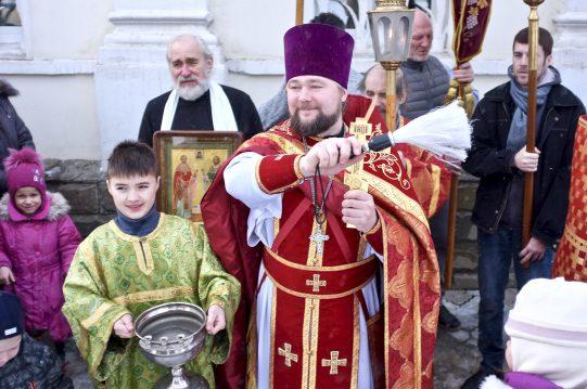 <b>17 февраля 2019 г. </b> Престольный праздник в день памяти сщмч. Алексия Шарова