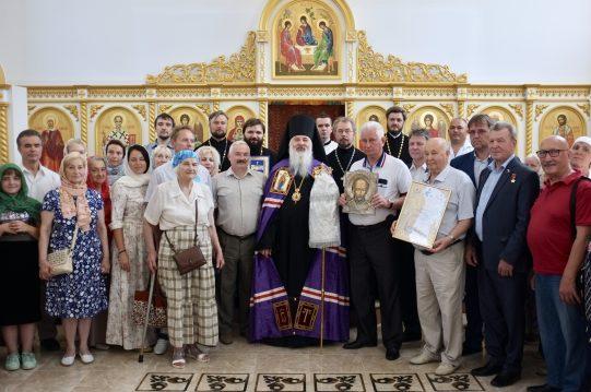 <b> 23 июня 2019 г. </b> Великое освящение храма святого равноапостольного князя Владимира в деревне Мисайлово